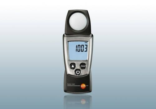 Lux Meters with Fixed Probes