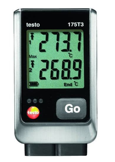 Temperature Data Logger with plug in probes - USB