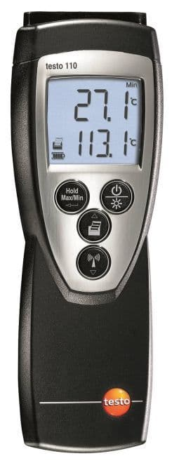 Testo 110 - 1 Channel NTC Thermometer