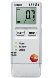 Testo 184 G1 - Temperature, Humidity and Shock Data Logger