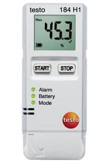 Testo 184 H1 Temperature and Humidity Data Logger