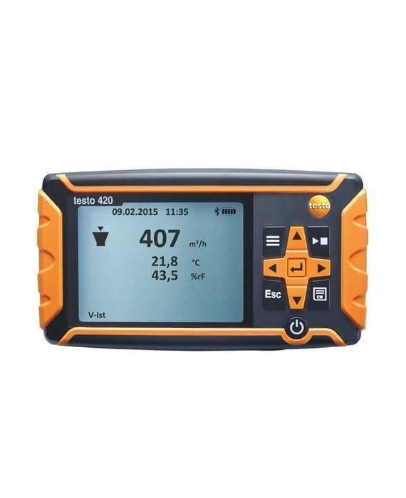 Testo 420 - Differential pressure measuring instrument