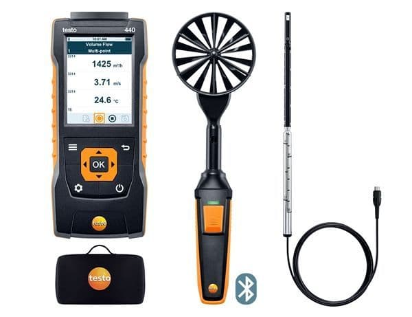 Testo 440 Bluetooth Air Flow Combo Kit 1
