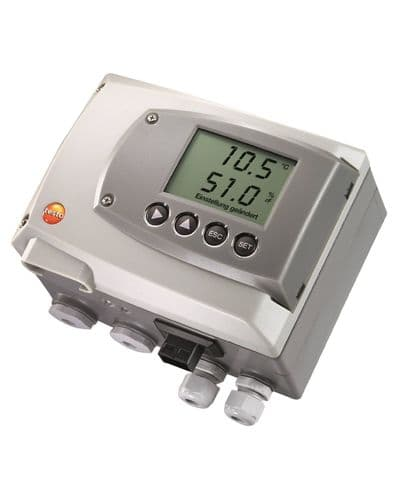 Testo 6651 - temperature/humidity transmitter for critical climate applications