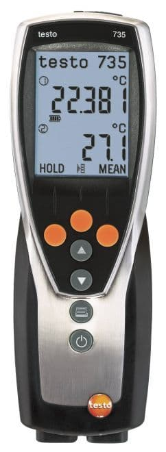 Testo 735-1 - Temperature measuring instrument