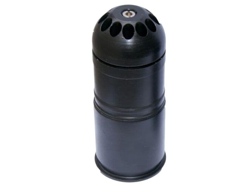 CCCP M203 40mm Gas Grenade (108 Rounds - Polymer - Black)