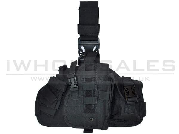 CCCP UNIVERSAL PISTOL HOLSTER WITH POUCH (BIG - BLACK)
