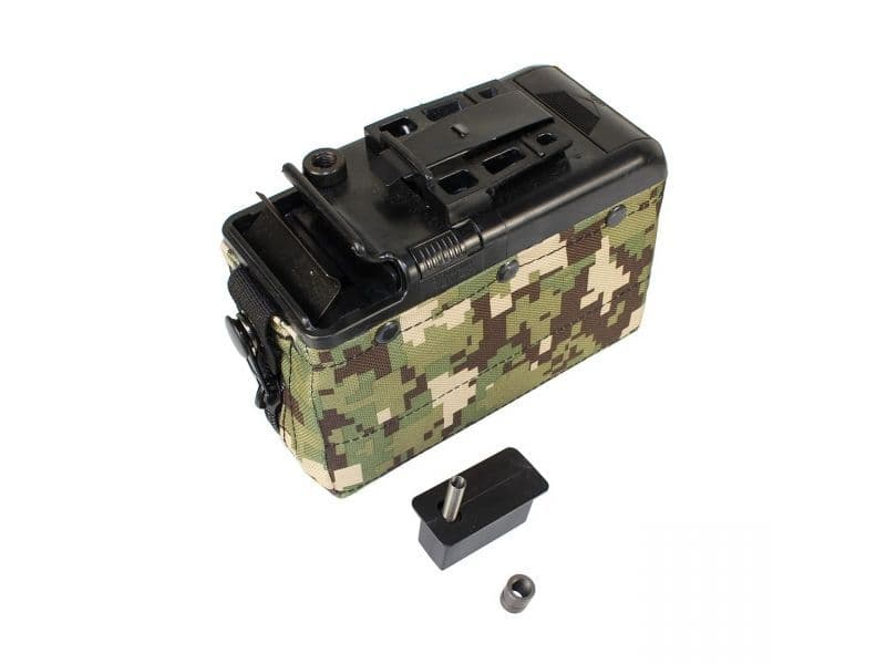 Classic Army M249 and LMG Camo Box Magazine Woodland digicam.jpg