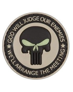 God Will Judge Patch