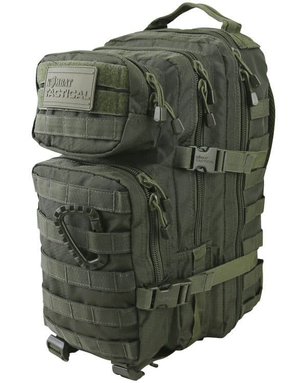 Hex - Stop Small Molle Assault Pack 28 Litre - Olive Green