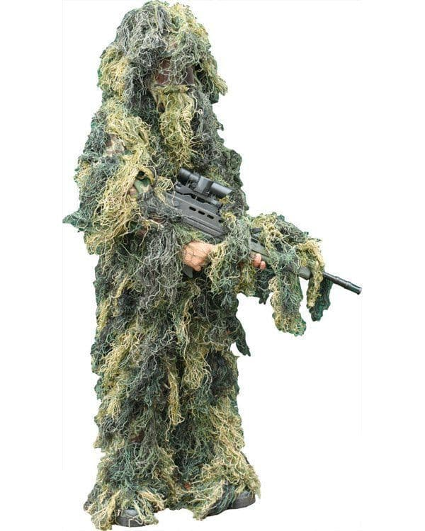 Kids Ghillie Suit - Woodland   OUT OF STOCK