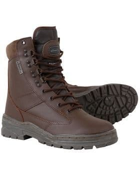 Patrol Boot - All Leather - MOD Brown