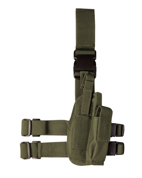 Tactical Leg Holster - Olive Green OUT OF STOCK