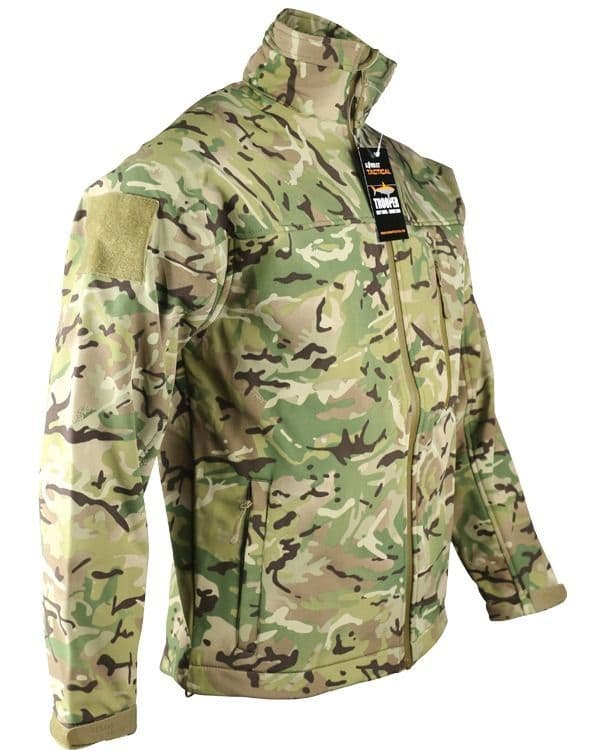 TROOPER - Tactical Soft Shell Jacket - BTP ( NEW STYLE )