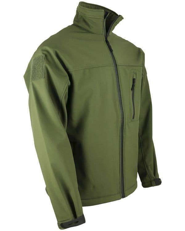 TROOPER - Tactical Soft Shell Jacket (Olive Green)