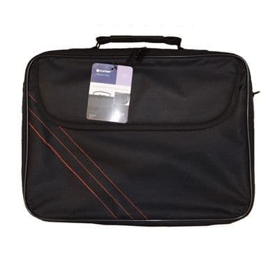 """15.6"""" Notebook Carry Bag Black and Red"""