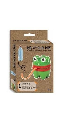 ReCycleMe Mini Project Box - Green Frog