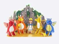 Playpress Zog Pop-Out Eco Friendly Playset
