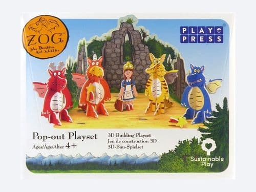 Zog Pop-Out Eco Friendly Playset
