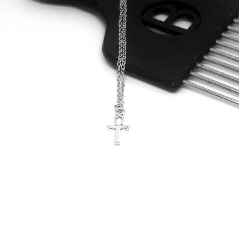 Ankh Tiny Chain & Pendant