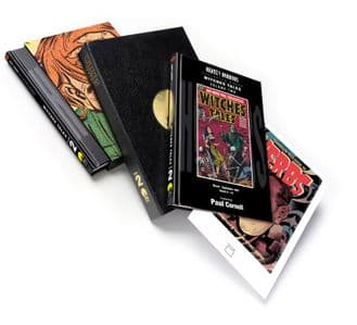 Harvey Horrors Collected Works - Witches Tales (Vol 2) [signed traycased]