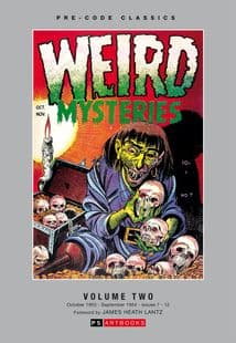 Pre Code Classics Collected Works - Weird Mysteries (Vol 2)