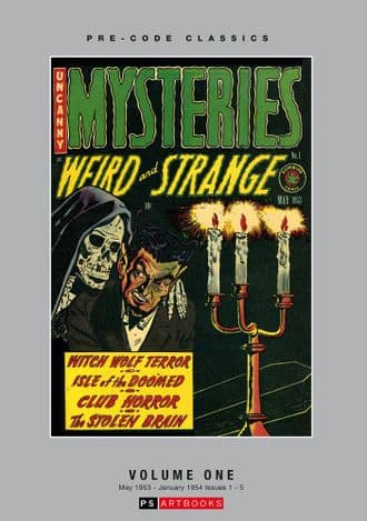 Pre-Code Classics Mysteries Weird and Strange  Volume 1