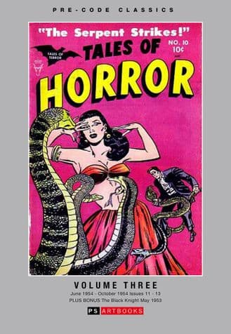 Pre-Code Classics Tales Of Horror  Volume 3