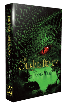 The Gold-Jade Dragon [hardcover] by Janeen Webb