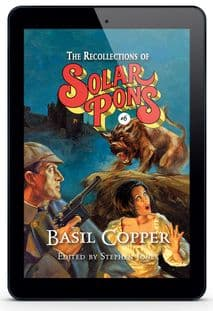 The Recollections of Solar Pons #6 [eBook] By Basil Copper