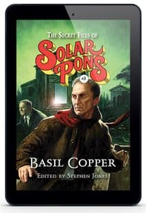 The Secret Files of Solar Pons #3 [eBook] By Basil Copper