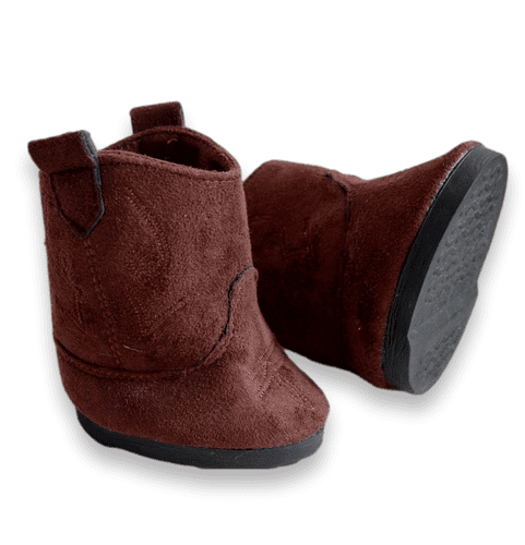 Brown Suede effect Boots