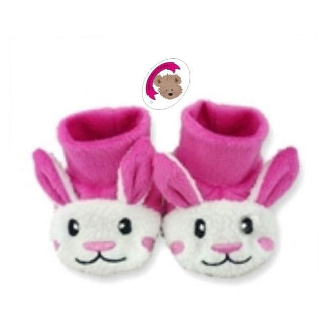 Candy Pink Bunny Slippers Shoes