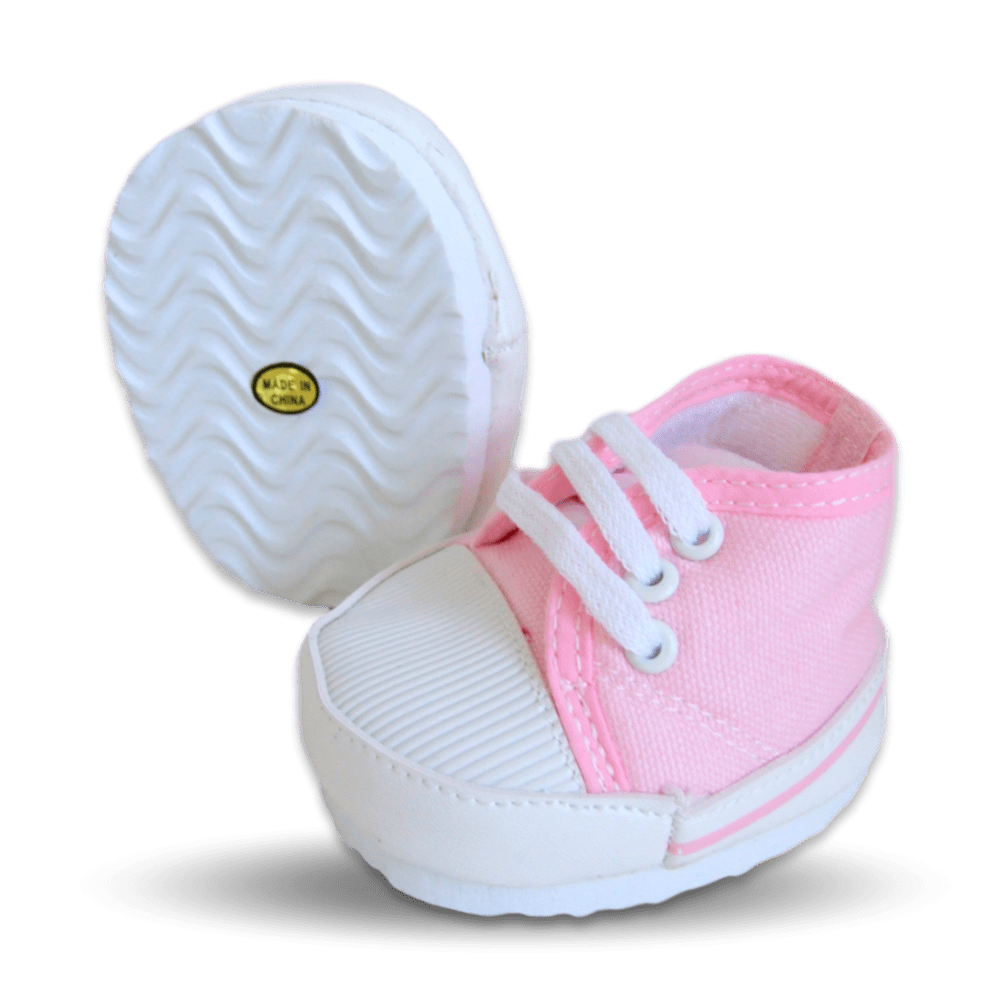 Pink Canvas Shoes