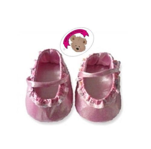 Pink Frilled Shoes
