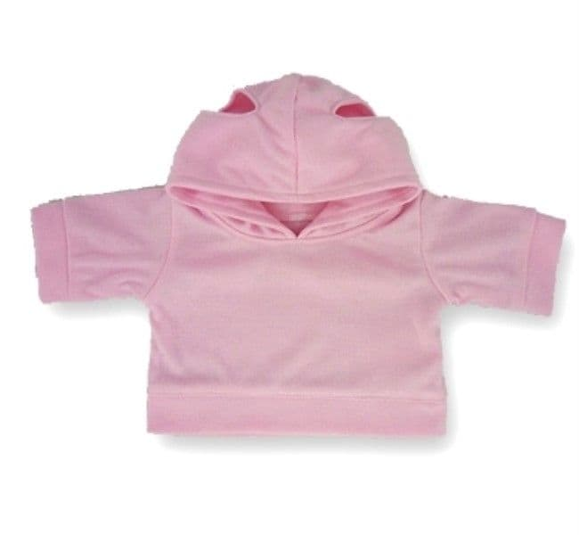 Teddy bear clothes Pink Hooded Top fits build a bear teddies