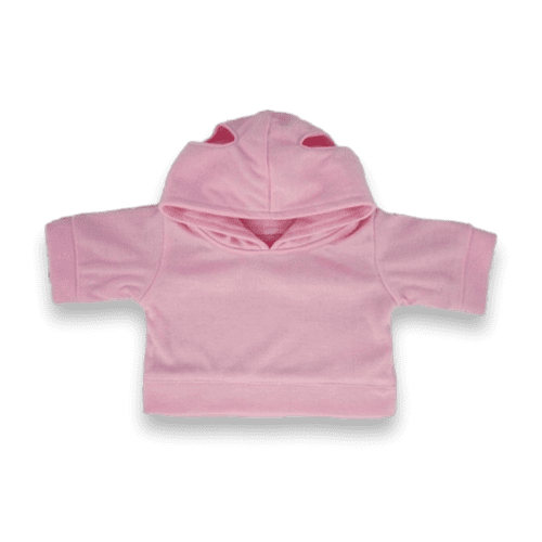 Pink Hooded Top
