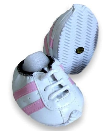Pink & White Trainers