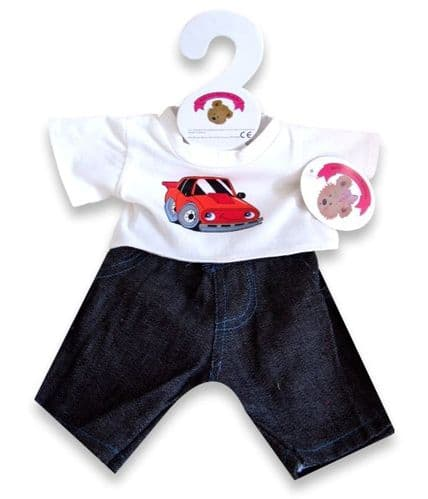 Red Car Outfit