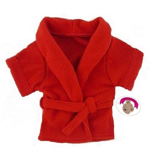 Red Dressing Gown Robe