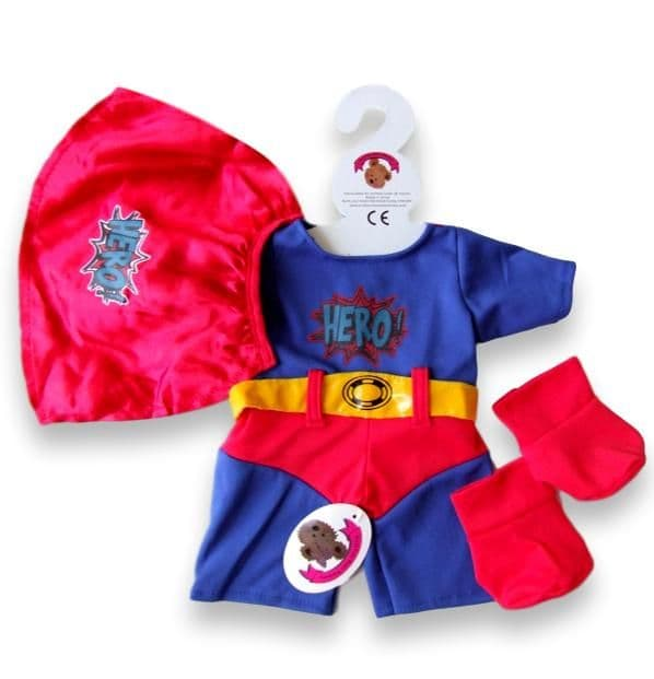 Build a bear fit Super Hero Outfit teddy bear clothes