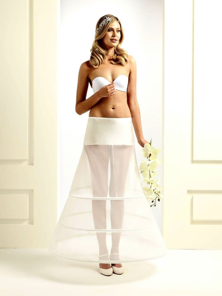Mia A-line wedding dress made from high-quality illusion lace and tul
