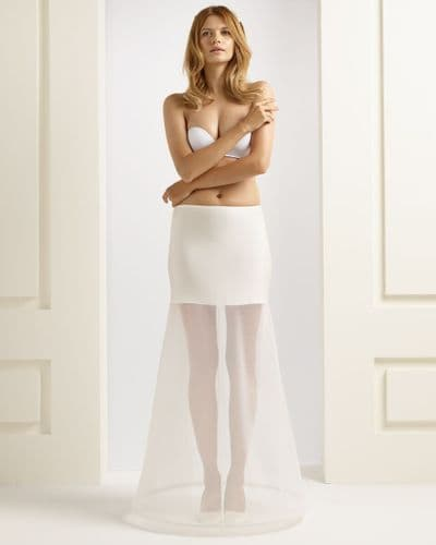 One hooped bridal petticoat with long waist band