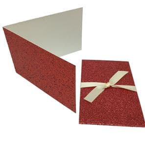 Glitter Bright Red Scratch Card Wallet