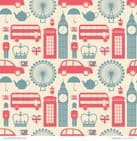 Patterned Paper London Calling