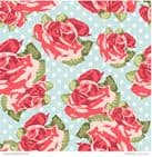 Patterned Paper Shabby Rose
