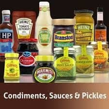 Bulk Buy - Condiments Etc.