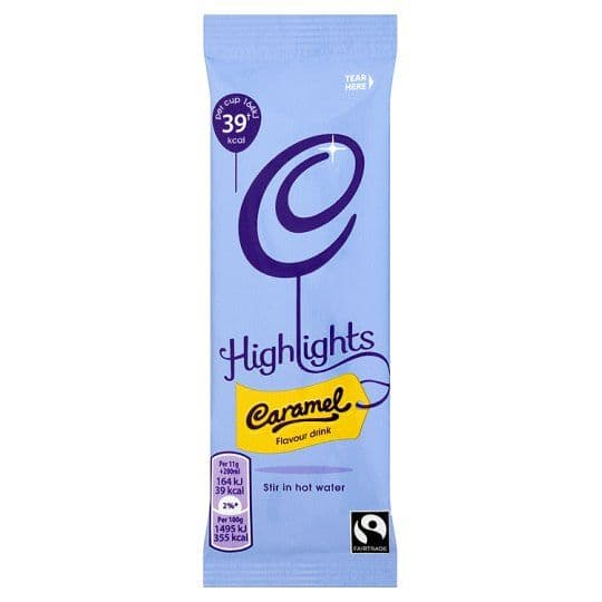 Cadbury - highlights - Caramel - single portion sachets online