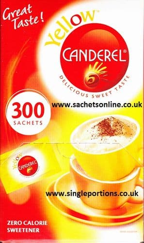 Canderel YELLOW - sachets x 300 - BULK PORTIONS