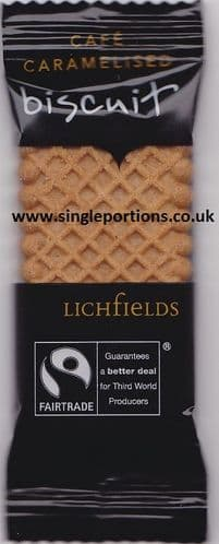 Caramelised Biscuits - Fairtrade - Cafe - single portions